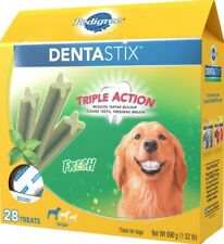 Pedigree Dentastix Triple Action FRESH Treats for Large Dogs 28 Treats