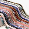 4x6mm Natural Spacer Color Stone Loose Beads Diy Accessories Jewelry Making Hole