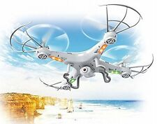 4-Channel QuadCopter Drone with HD Camera,1 Key Return Helicopter UK RC