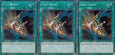 YUGIOH 3 X COST DOWN  LCKC-EN040 - SECRET LEGENDARY COLLECTION - KAIBA