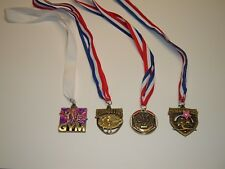 Gymnastics Metals - Lot of 4