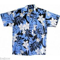NWT SZ M & XL - HAWAIIAN BEACH / CASUAL SHIRTS KONA DESIGN - ONLY BLUE LEFT