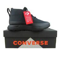 Converse Star Series UT Mid Lifestyle Chukka Black Size 9.5 NEW 166519C
