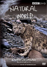 NATURAL WORLD - SNOW LEOPARD - DVD - REGION 2 UK