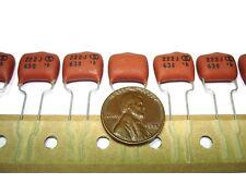10pcs .0022uf 630v 5% Radial Metalized Polypro Film Capacitors NEW 13.5x6x12
