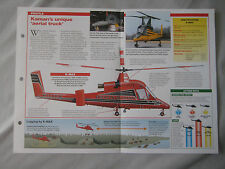 Aircraft of the World Card 54 , Group 3 - Kaman K-MAX