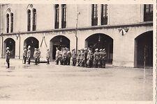 FOTO SU CARTOLINA MILITARI FASCISTI IN EX CASERMA CIALDINI REGGIO EMILIA 1-352