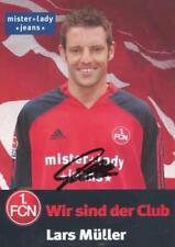 AK 2157 Lars Müller 1. FC Nürnberg 05/06