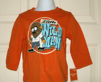 32ca89fe50 New Boys 12 Months Little Wild Man Halloween T-Shirt Long Sleeves 12M  Werewolf