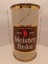 1953 MEISTER BRAU BOCK FLAT TOP BEER CAN #99-2 PETER HAND CHICAGO, ILL.