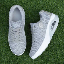 Fashion Large Size Solid Sneakers For Women - Gray (HPG033052)