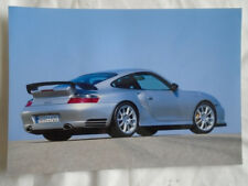 Porsche 911 GT2 press photo c2003 German text v2