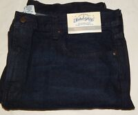 Jeans Denim Faded Glory 40x32 Straight Fit Dark Wash Blue Vintage Color Mens New