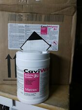 Case of 12,   CaviWipes - Cavicide Germacidal 3,   160 ct,    exp 2023