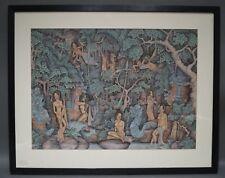 Anak Agung Gede Raka Puja (1930 Bali Indonésie) Badeszene avec Féminin Fichiers