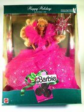 NIB BARBIE DOLL 1990 HAPPY HOLIDAYS CHRISTMAS