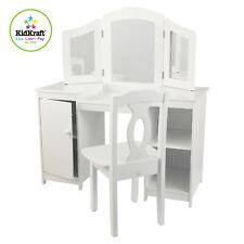 Kidkraft Deluxe Vanity unit | Kids Dressing Table Stool Mirror