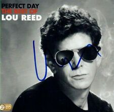 LOU REED SIGNED AUTOGRAPH