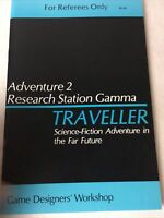 Adventure 2 Research Station Gamma Traveller Science-Fiction Adventure GDW 1980