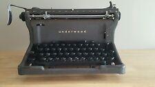 "Antique Vintage ""RARE"" UNDERWOOD Manual Typewriter Great Condition"
