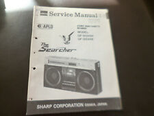 Original Service Manual Schaltplan Sharp GF-9595H/E