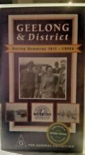 GEELONG AND DISTRICT~ moving memories 1911-1950s video VHS/PAL GEELONG HISTORY
