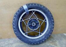 1980 Suzuki GS450 S826. rear wheel rim 16in