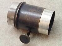 Bausch & Lomb Vintage Brass Barrel for Projector Magic Lantern Lens ?? Rough