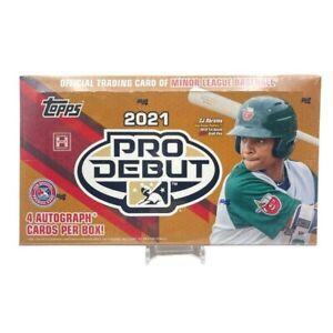 2021 Topps Pro Debut Baseball Factory Sealed Hobby Box