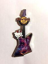 Hard Rock Cafe FUKUOKA 2014 Hello Kitty Space Guitar Pin LE100