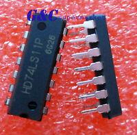 10PCS HD74LS11P DIP HITACHI Triple 3-input Positive AND Gates GOOD QUALITY Z82