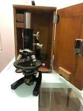 microscope ancien Carl Zeiss Jena