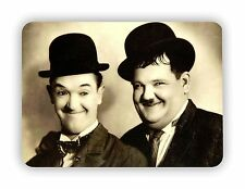 Laurel And Hardy Portrait Movie Film Poster  METAL SIGN PLAQUE Vintage Retro- A5