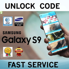 Samsung Galaxy S9+ S9 S8+ S8 S7 FACTORY PREMIUM UNLOCK SPEED SERVICE IMEI AT&T