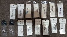 DS MOBILE PHONE BAG CHARM PENDANT JEWELS ANIMALS UK GIFT VARIOUS Brand New 💗