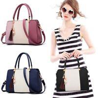 Women PU Leather Handbag Shoulder Bag Purse Messenger Satchel Crossbody Tote Bag