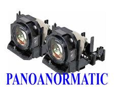 Lampe de projecteur Panasonic PT-D5000 PT-D6000 PT-D6710 PT-DW6300 PT-DZ6700 Ampoule x2