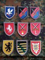 Bundeswehr Verbands Abzeichen Patch Konvolut 9 Stück Lot