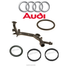 Audi A4 A6 Coolant Water Distribution Pipe Connects Cylinder Heads O-Ring Seals