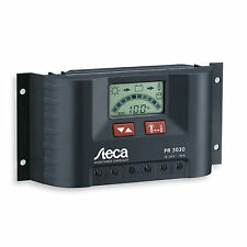 Steca 30A PWM solar controller for caravans, motorhomes, RVs, boats and yachts