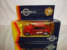 GAMA MINI 1104 VW VOLKSWAGEN BEETLE 1302 - RED 1:43 - GOOD CONDITION IN BOX