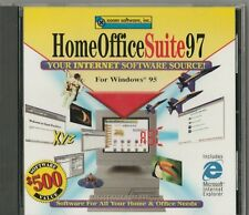 Home Office Suite 97 for Windows 95 by Xoom Software ~1997