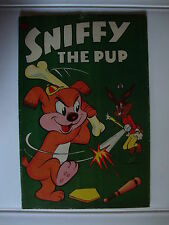 Sniffy The Pup #18 Vg Lets Play Ball