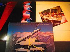 3 Supertramp LP lot,Quietest Moments, Breakfast in America,famous last words