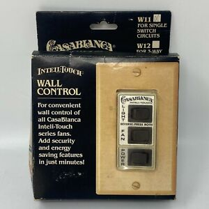 🔴Vintage Casablanca Inteli Touch Wall Control Switch for Ceiling Fan Light W11