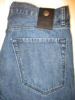 Hugo Boss Regular Fit Straight Leg  Mens Dark Blue Denim Jeans Size 32 x 32 Mint