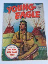 Young Eagle #4 (Fawcett Comics 1951) VG-