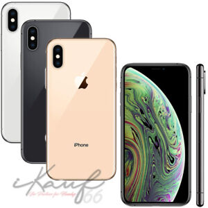APPLE IPHONE XS 64GB ★ WIE NEU ★ Ohne Simlock - Smartphone - Ohne Vertrag - WOW