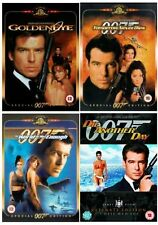 The Complete Pierce Brosnan James Bond DVD Movie Collection Brand New DVD