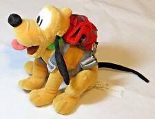 Pluto Disneyland Resort Walt Disney World Hiking Pluto bean bag stuffed animal